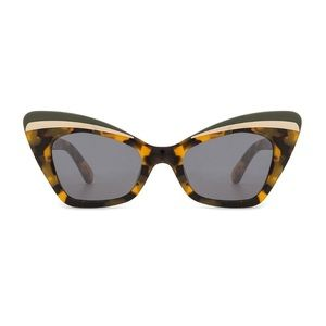 Karen Walker Babou in Tortoise Sunglasses